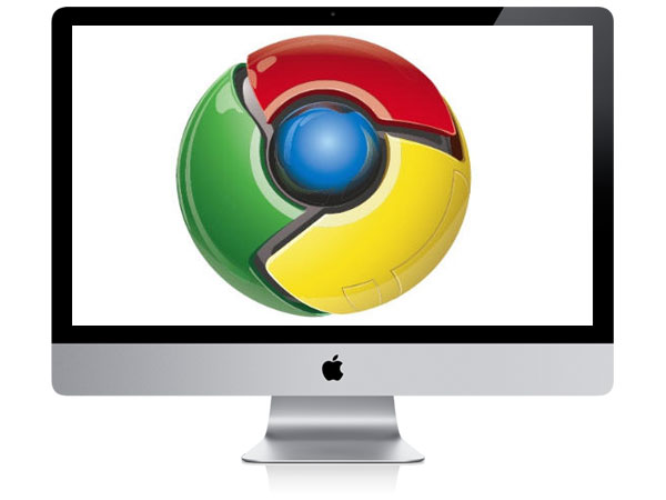 Google Chrome eye logo