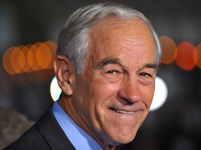 Ron Paul smiling close-up
