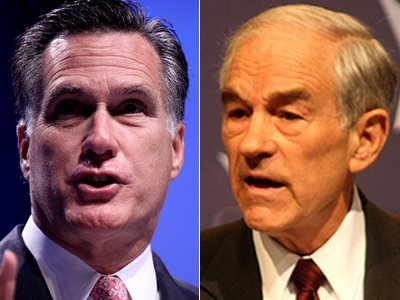 Mitt Romney & Ron Paul