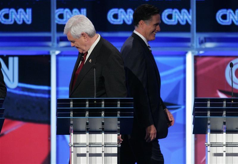 Newt Gingrich & Mitt Romney