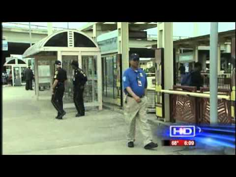 TSA Agents Take to the Streets of Houston