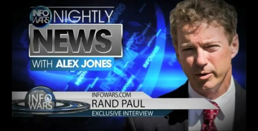 Rand Paul - Infowars Interview