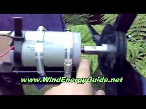 Free Energy, Homemade Solar Panel & Wind Turbine