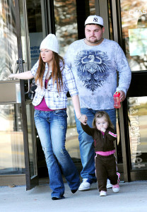 Amber Portwood, Gary Shirley, and their daughter Leah