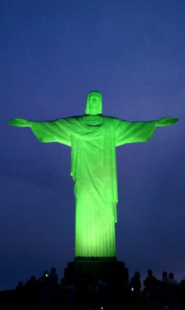 Eco-christ-green jesus
