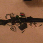 Brand New Saiga 7.62 by 39 fresh out of the box with all the stuff that comes with it from the factory.
