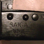 Saiga with serial number covered up.