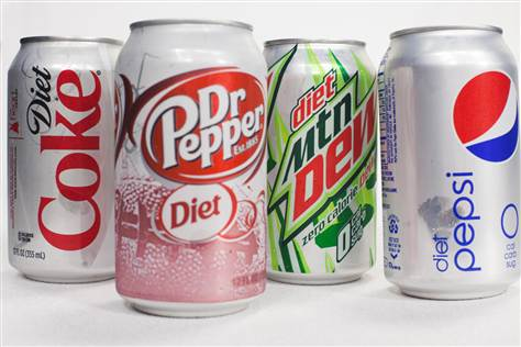 diet soda aspartame