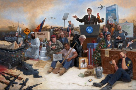 Obamanation by Jon McNaughton