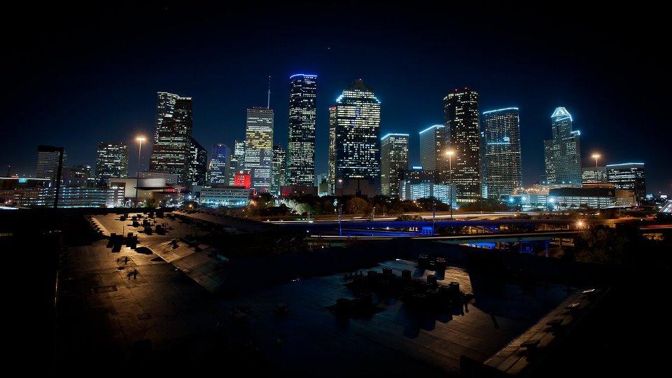 Houston Angle Shot