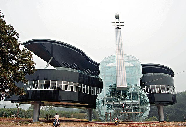 piano house in Anhui China