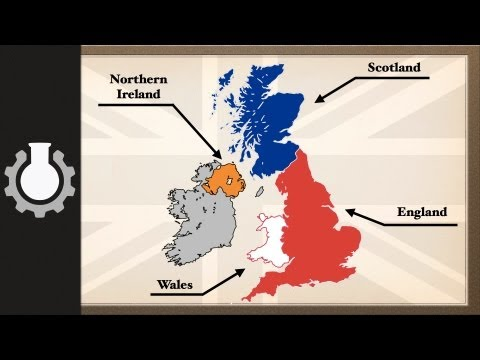 Difference between the UK, Great Britain & England Explained